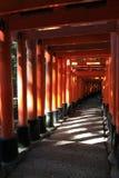 Fushimii Inari Γκέιτς Στοκ Εικόνα