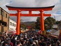 fushimiinari Royaltyfri Fotografi
