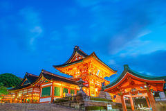 Fushimiinari Taisha ShrineTemple à Kyoto, Japon Photos libres de droits