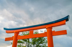 Fushimiinari Taisha ShrineTemple à Kyoto, Japon Images libres de droits