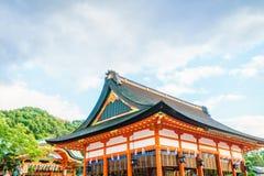 Fushimiinari Taisha ShrineTemple à Kyoto, Japon Image libre de droits