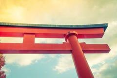 Fushimiinari Taisha ShrineTemple in Kyoto, Japan  ( Filtered ima Stock Photo