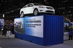 Fusión 2011 de Ford Imágenes de archivo libres de regalías