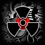 Fusión nuclear ilustración del vector