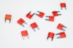 Fusibili automobilistici elettrici per l'automobile Immagine Stock