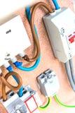 Fusibili elettrici fotografia stock