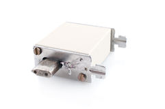 Fusible del circuito eléctrico Imagen de archivo libre de regalías
