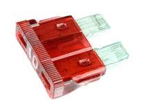 Fusible rojo imágenes de archivo libres de regalías