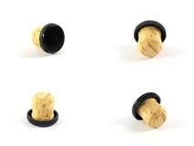 Fusibles d'une bouteille Image stock
