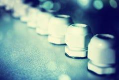 Fusibles eléctricos Foto de archivo libre de regalías