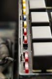 Fusibles y retransmisiones del automóvil Imagenes de archivo