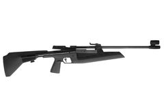 Fusil à air comprimé photos libres de droits