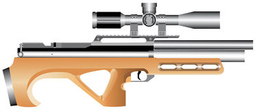 Fusil d'air Image stock