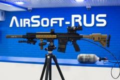 Fusil d'Airsoft AEG d'élite d'élément perturbateur et de Koch HK417 de VFC photos stock
