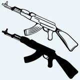Fusil d'assaut ak47 Photo stock