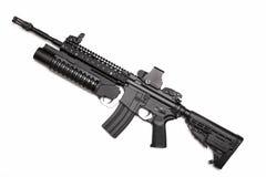 Fusil d'assaut de Spéc. Ops M4A1 des USA image libre de droits