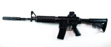 Fusil d'assaut, d'isolement sur le blanc Photo stock