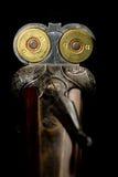 Fusil de chasse chargé Images libres de droits
