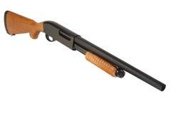 Fusil de chasse d'action de pompe photographie stock