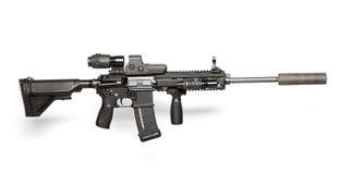 Fusil de l'armée américaine M4 Images libres de droits