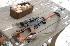Fusil de tireur isolé Photos libres de droits