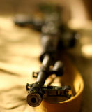 Fusil URSS Russie d'arme à feu automatique de kalachnikov d'AK-47 Image stock