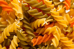 Fusili pasta Stock Photo