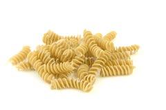 fusilli意大利人意大利面食 库存照片