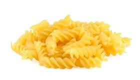 fusilli意大利面食堆 库存图片