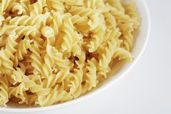Fusilli Royalty Free Stock Photos