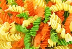 Free Fusilli Green, Orange And Yellow Stock Photography - 10677962