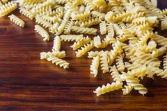 Fusilli,Italian Pasta Royalty Free Stock Image