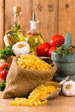 Fusilli Pasta royalty free stock photography
