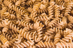 Fusilli pasta Royalty Free Stock Image