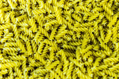 Fusilli Pasta in Bulk Stock Photo