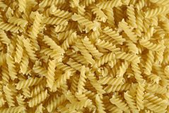 Fusilli, pasta Royalty Free Stock Images