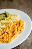 Fusilli pasta Royalty Free Stock Photography