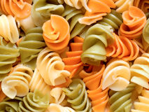 Fusilli pasta salad Stock Photos
