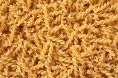 Fusilli rå pasta Royaltyfria Bilder