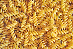 Fusilli raw pasta Royalty Free Stock Photography