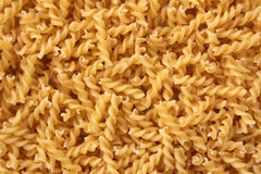 Fusilli raw pasta Royalty Free Stock Images
