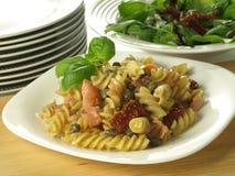 Fusilli salad Royalty Free Stock Photos
