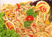 Fusilli Salad Stock Image
