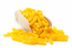 Fusilli in scoop Stock Photography