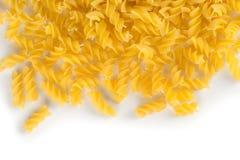 Fusilli swirl pasta Royalty Free Stock Image