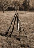 Fusils d'armée confédérée Photographie stock