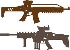 Fusils de combat Photo stock
