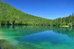 Fusine lake, Alps mountain scenery. Friuli, Italy Stock Image