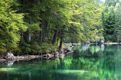 Fusine lake Royalty Free Stock Photo