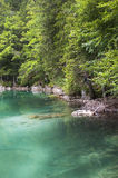 Fusine lake Stock Photo